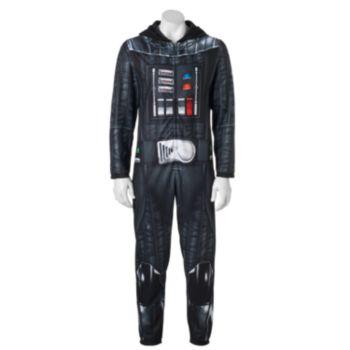 Men's Star Wars Darth Vader Microfleece Union Suit