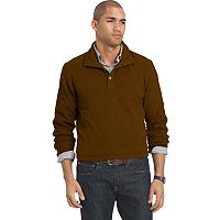 Big & Tall Van Heusen Classic-Fit Mockneck Fleece Sweater