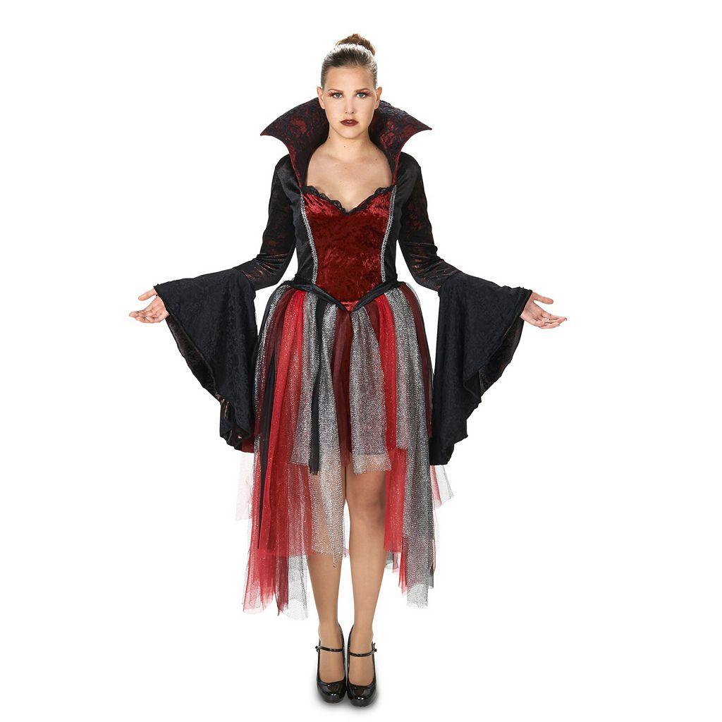 Adult Evil Queen of Hearts Costume