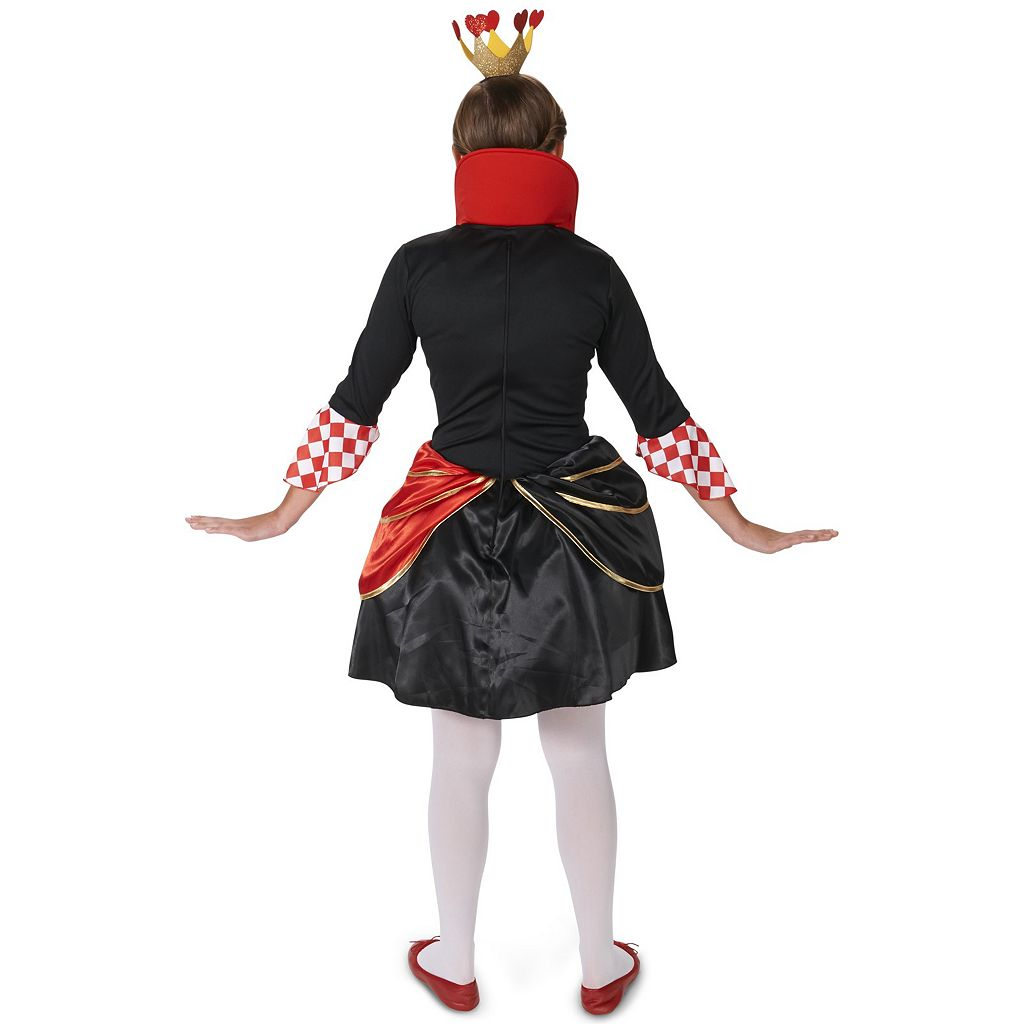 Adult Evil Queen of Hearts Costume
