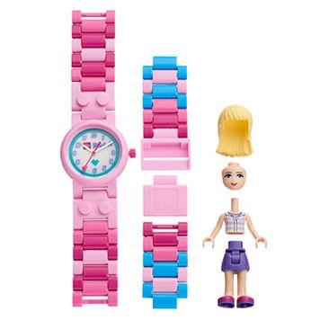 LEGO Friends Kids' Stephanie Minifigure Interchangeable Watch Set
