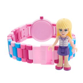 LEGO Friends Kids' Stephanie Minifigure Interchangeable Watch Set