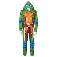 Men's Teenage Mutant Ninja Turtles Leo Microfleece Union Suit