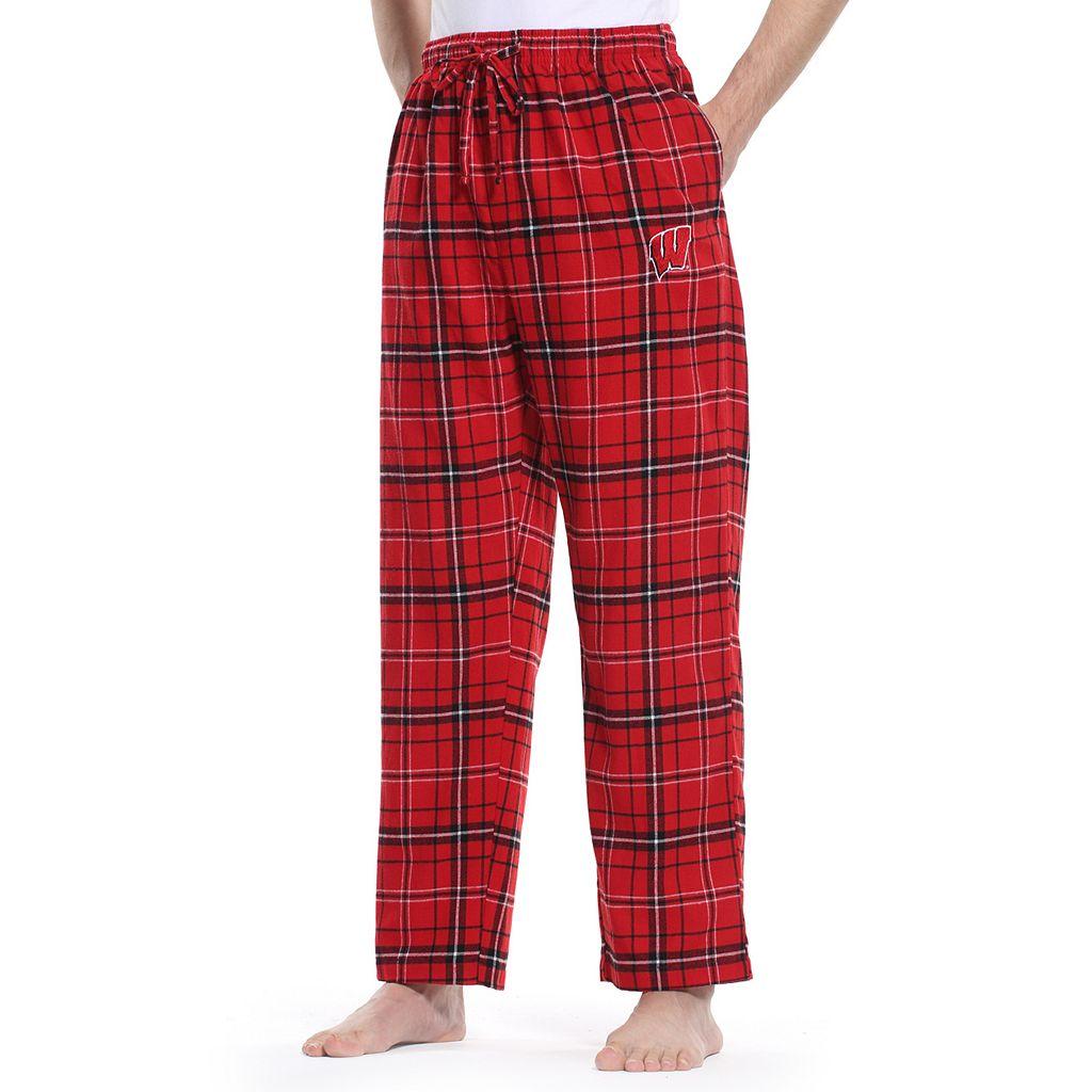 Men's Wisconsin Badgers Ultimate Flannel Pants