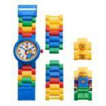 LEGO Kids' Classic Minifigure Interchangeable Watch Set