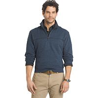 Big & Tall Arrow Classic-Fit Sueded Fleece Quarter-Zip Pullover