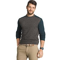 Big & Tall Arrow Classic-Fit Colorblock Fleece Sweater
