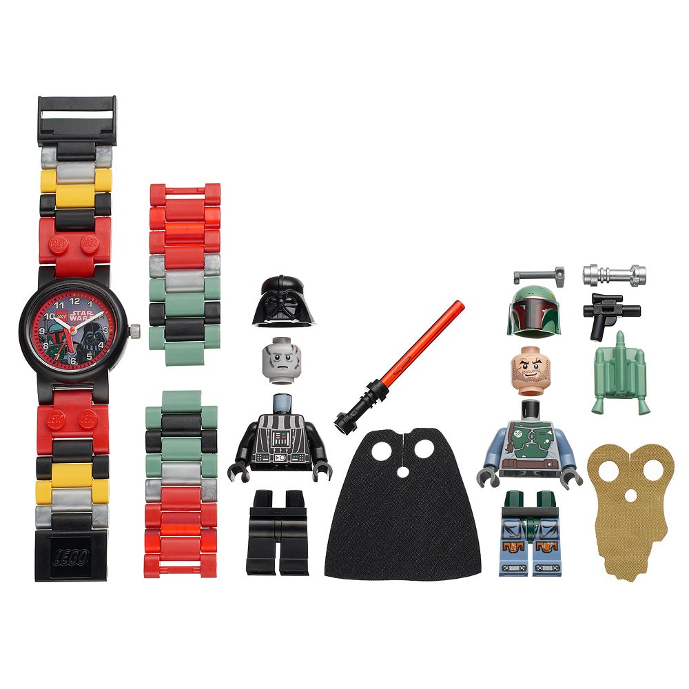 Lego Kids Star Wars Darth Vader Boba Fett Minifigure