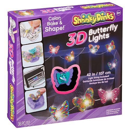 Shrinky Dinks 3D Butterfly Lights Kit