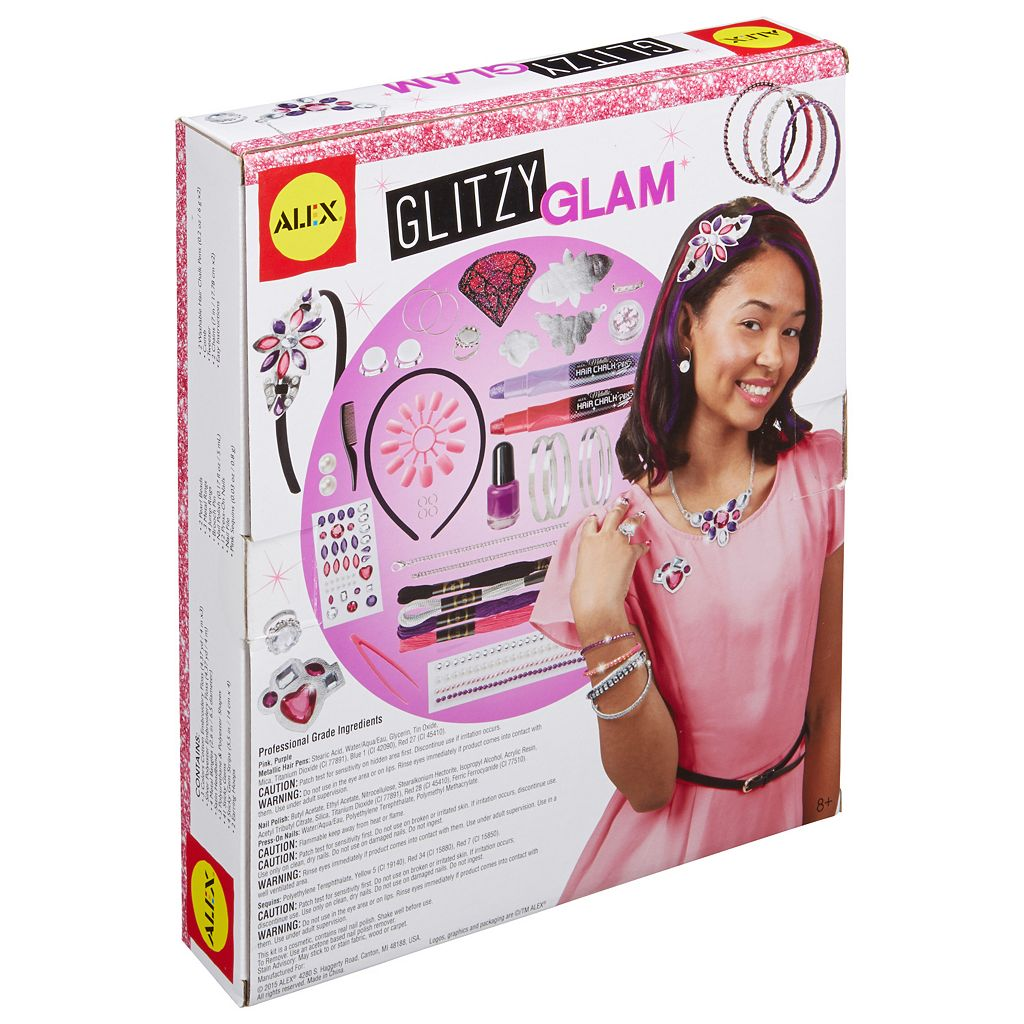 ALEX Toys Do-it-Yourself Wear Glitzy Glam Kit