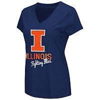 Women's Campus Heritage Illinois Fighting Illini V-Neck Tee
