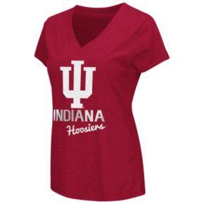 Women's Campus Heritage Indiana Hoosiers V-Neck Tee