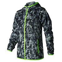 Women's New Balance Windcheater Printed Windbreaker Jacket