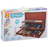 ALEX Art Studio Expressions Deluxe Wooden Drawing Case Set