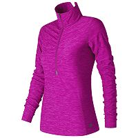Women's New Balance In Transit Half Zip Top