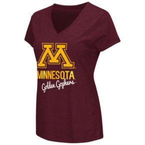 Women's Campus Heritage Minnesota Golden Gophers V-Neck Tee