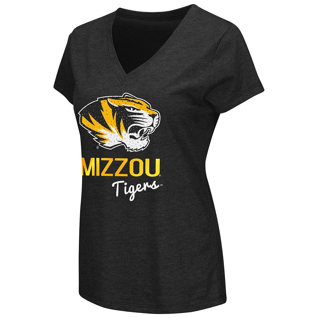 Women's Campus Heritage Missouri Tigers V-Neck Tee