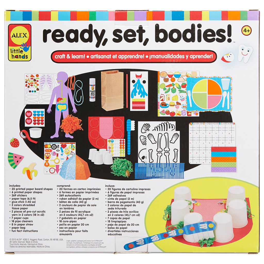 ALEX Toys Little Hands Ready Set Bodies Kit
