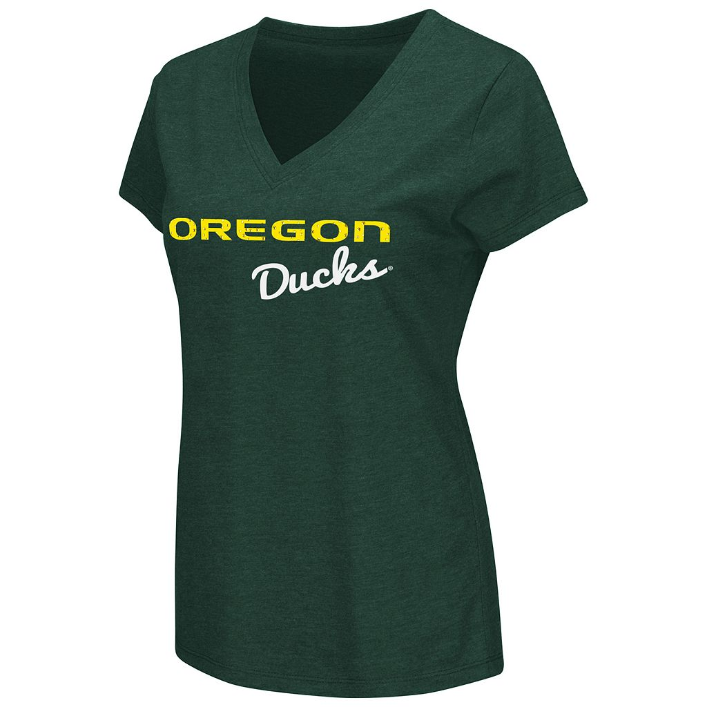Women's Campus Heritage Oregon Ducks V-Neck Tee
