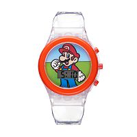 Super Mario Bros. Kids' Digital Light-Up Watch