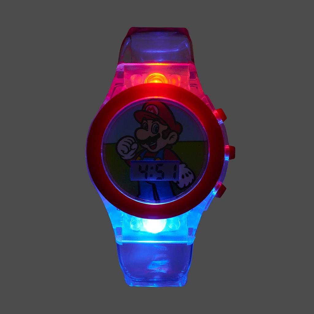 Super Mario Bros. Kids' Digital Light-Up Watch