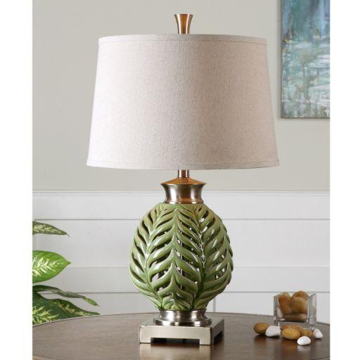 Flowing Fern Table Lamp