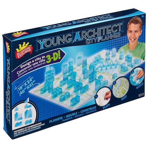 Scientific Explorer Young Architect City Planner