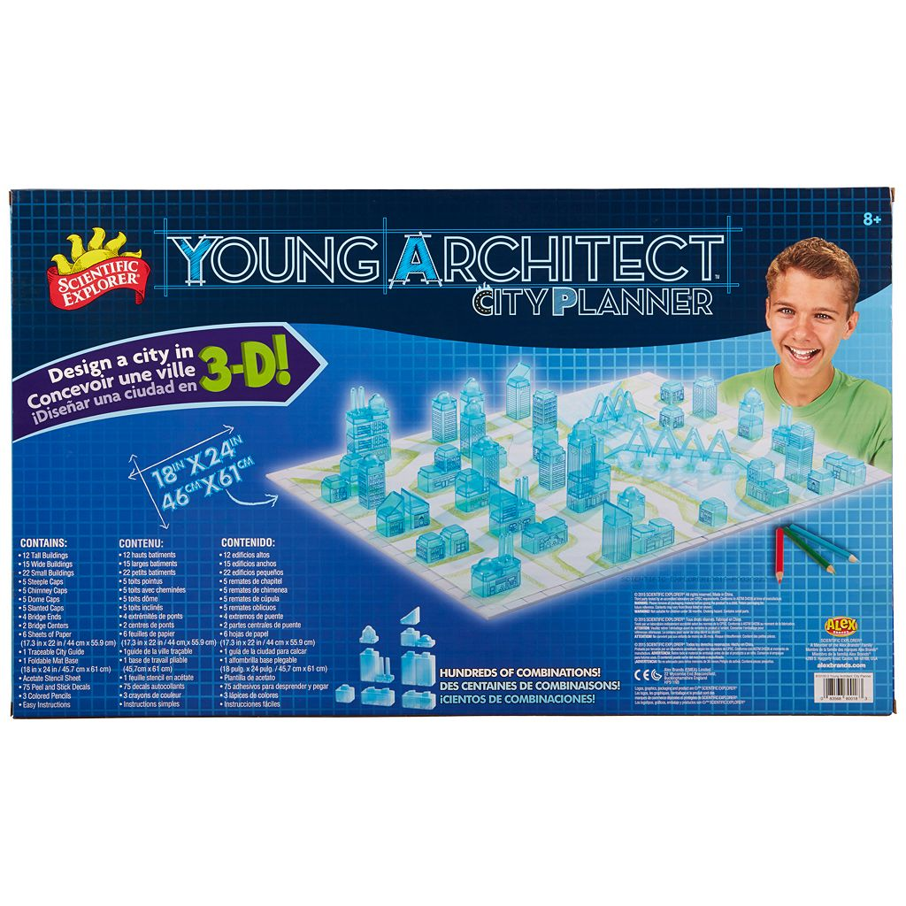 Scientific Explorer Young Architect City Planner
