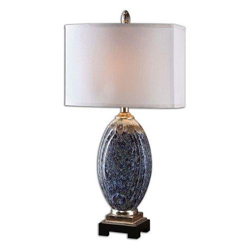 Latah Distressed Ceramic Table Lamp