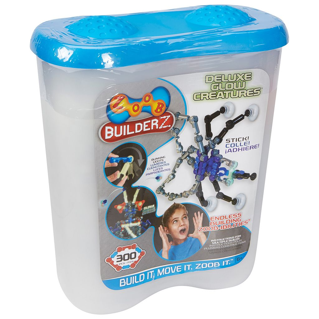 ZOOB BuilderZ Deluxe Glow Creatures Kit