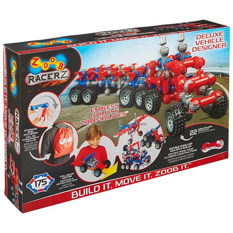 Zoob RacerZ Deluxe Vehicle Designer Set, Multicolor