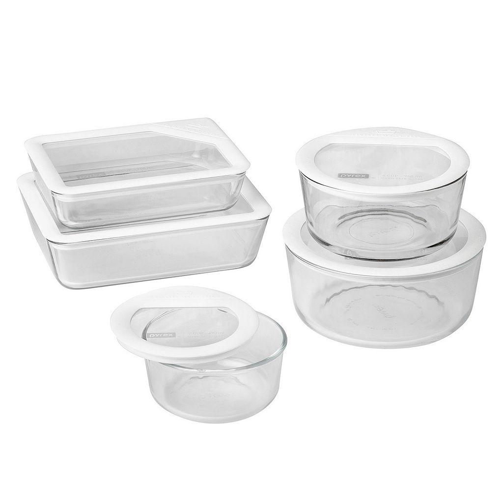 Pyrex 10-pc. Ultimate Bridal Glass Storage Set