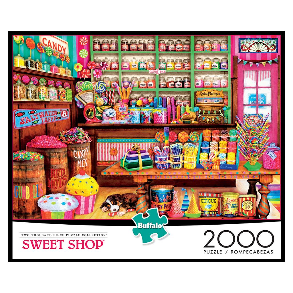 Buffalo Games 2000-pc. Sweet Shop Puzzle