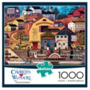 Buffalo Games 1000-pc. Charles Wysocki The Bostonian Puzzle
