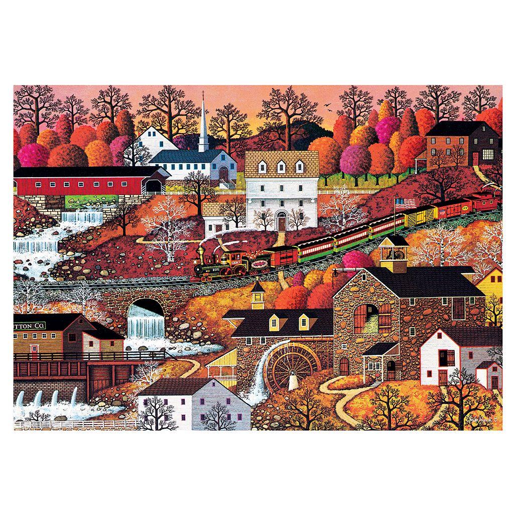 Buffalo Games 500-pc. Charles Wysocki Americana Waterfall Valley Puzzle