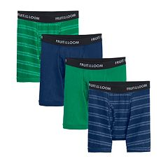 Boys Fruit Of The Loom Signature 4-Pack Boxer Briefs