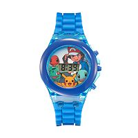 Pokémon Kids' Digital Light-Up Watch