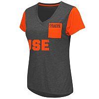 Women's Campus Heritage Syracuse Orange Pocket V-Neck Tee