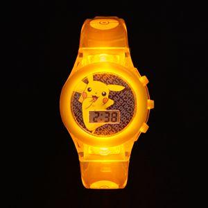 Pokémon Pikachu Kids' Digital Light-Up Watch