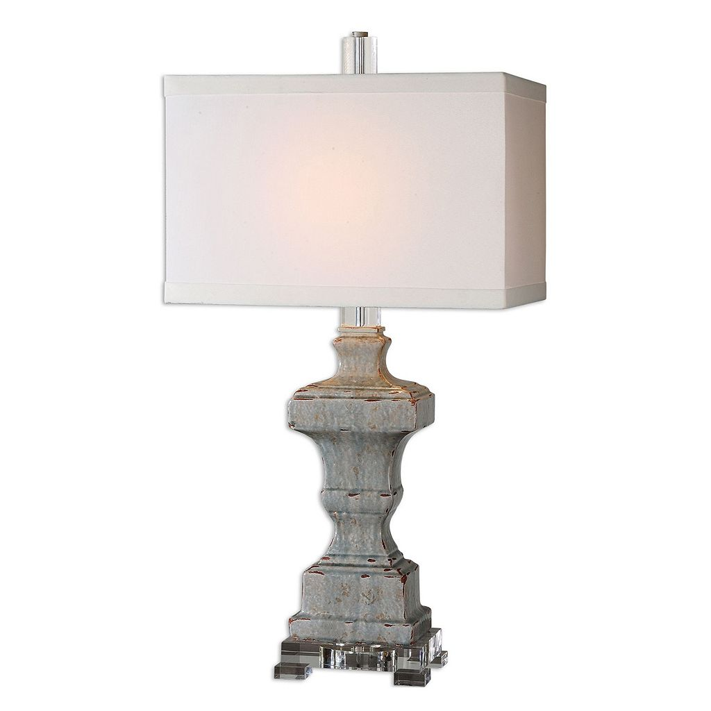 San Marcello Textured Ceramic Table Lamp