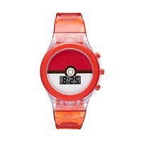 Pokémon Pokéball Kids' Digital Light-Up Watch