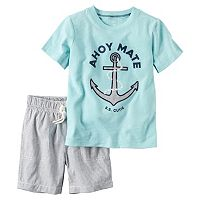 Toddler Boy Carter's Short Sleeve