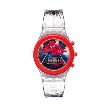 Marvel Ultimate Spider-Man Kids' Digital Light-Up Watch
