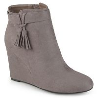 Journee Collection Gia Women's Wedge Ankle Boots