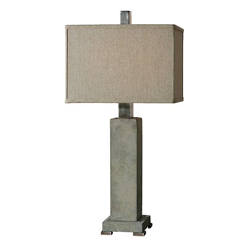 Risto Distressed Table Lamp