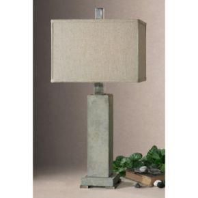 Risto Distressed Table Lamp