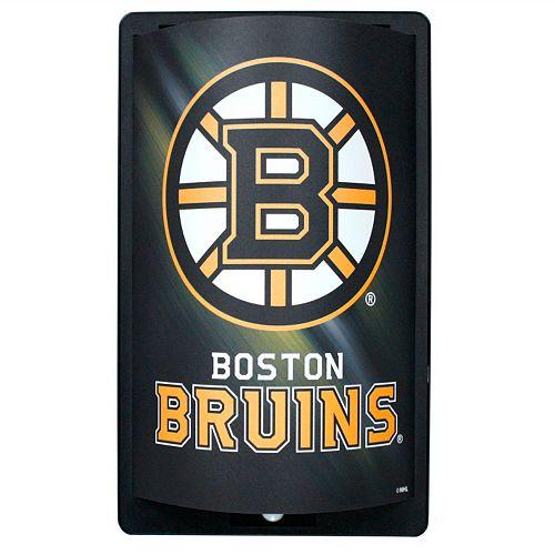 Boston Bruins MotiGlow Light-Up Sign