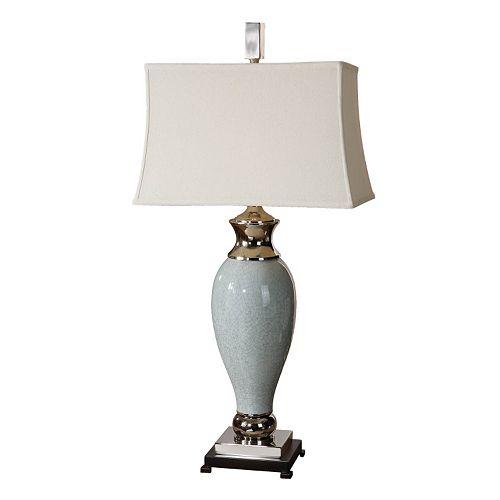 Rossa Crackled Ceramic Table Lamp