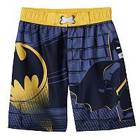 Boys 4-7 LEGO DC Comics Batman Swim Trunks