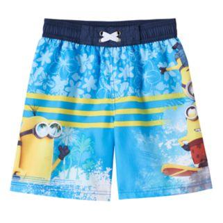 Boys 4-7 Despicable Me Minion Swim Trunks